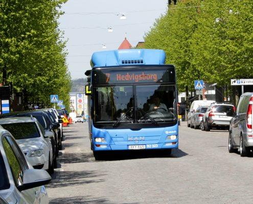 genrebild på buss