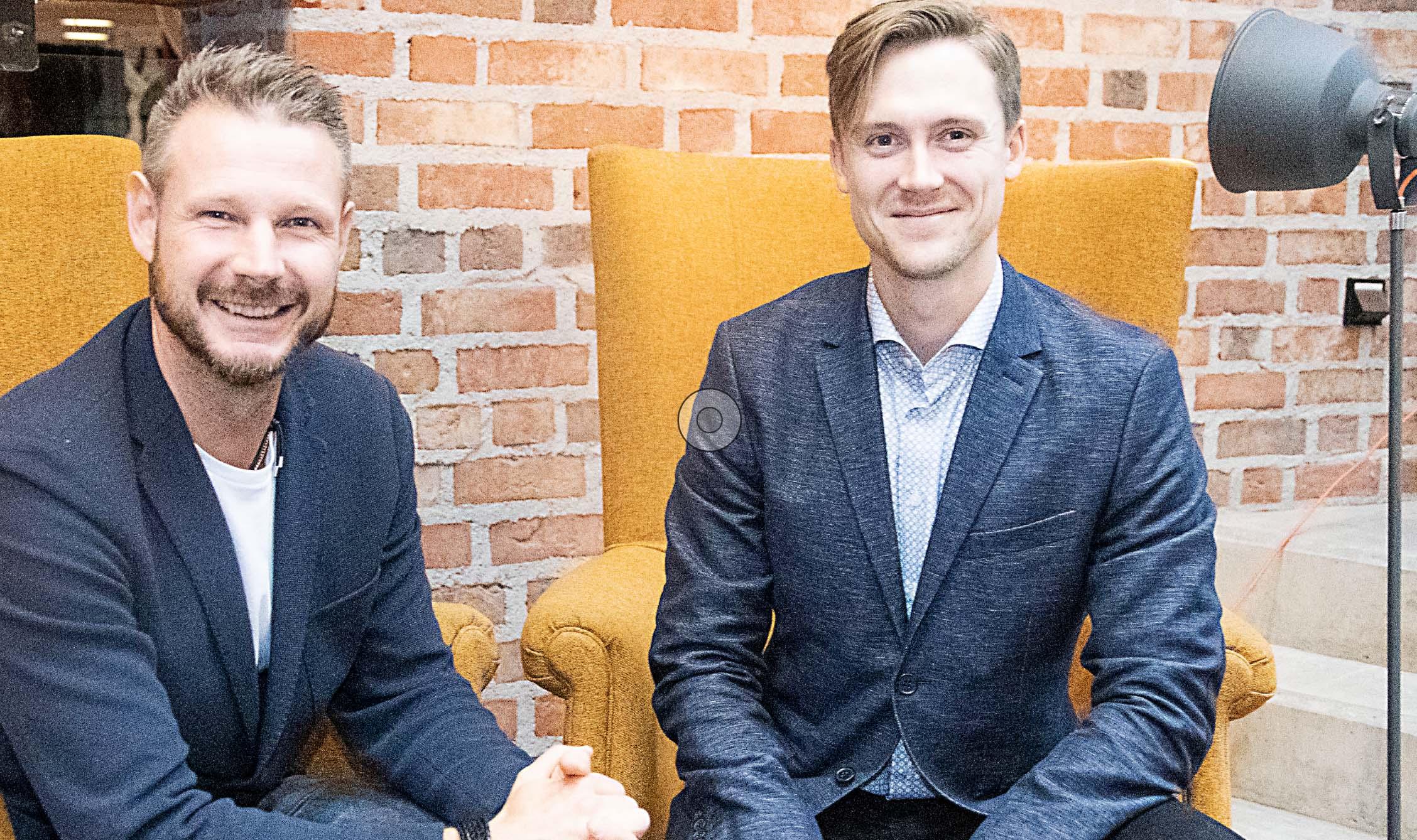Klas Ekdahl och David Raja